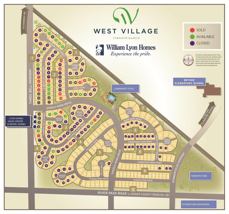 West Village Site Plan