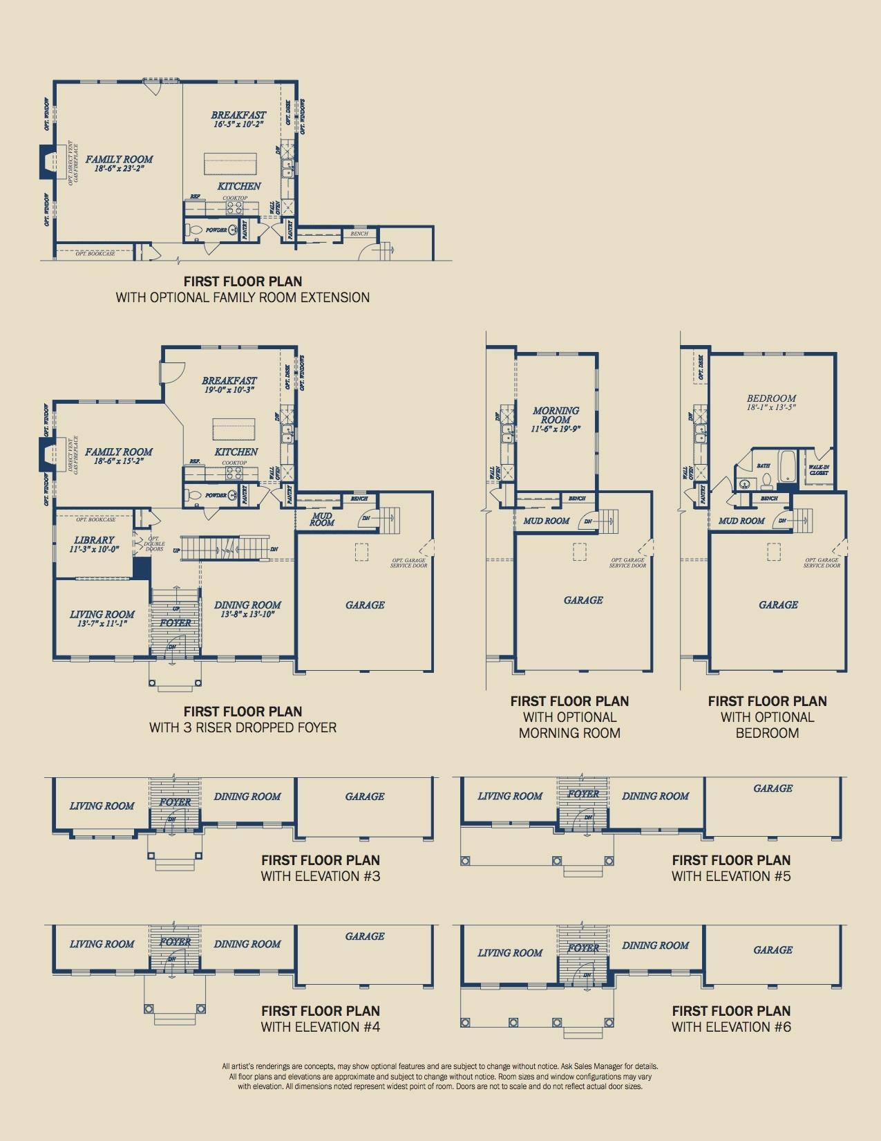The Hamilton Brochure Page 4 - Floorplans